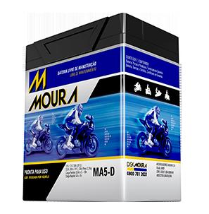 Ilustração Moura Motorbike AGM/VRLA