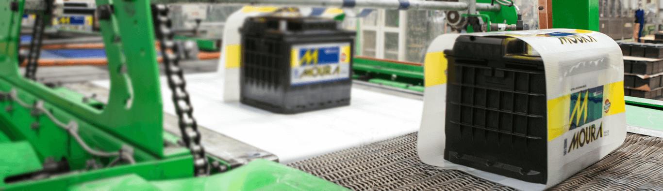 Baterias Moura são recicladas