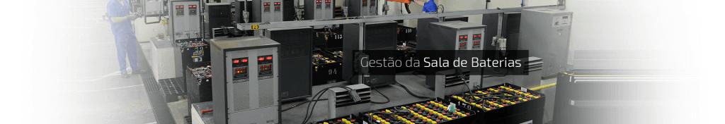Gestão de sala de baterias aumenta a produtividade do seu negócio