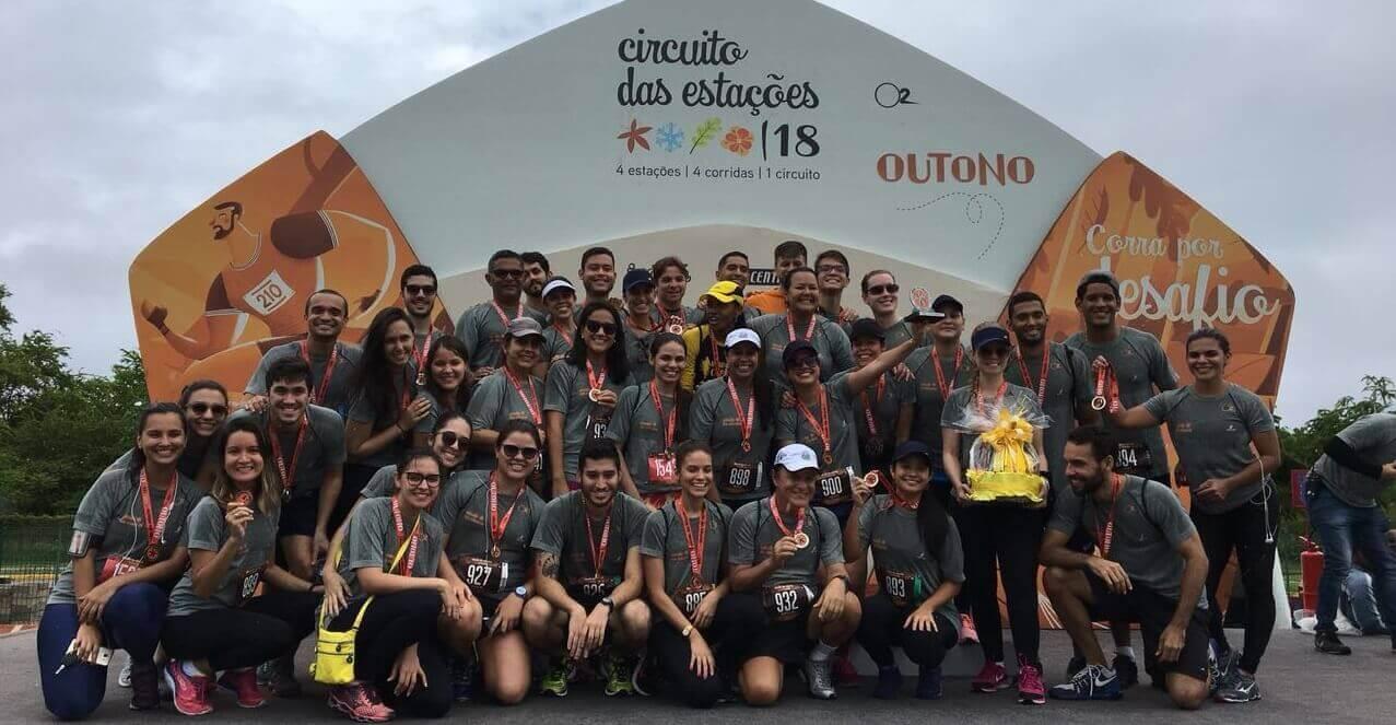 Colaboradores Moura participam da Corrida das Estações