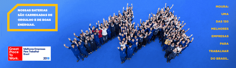 Moura é uma das 60 melhores empresa para se trabalhar no Brasil