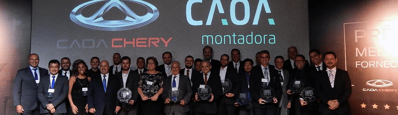 Moura recebe prêmio de Qualidade em Fornecimento da Caoa Chery