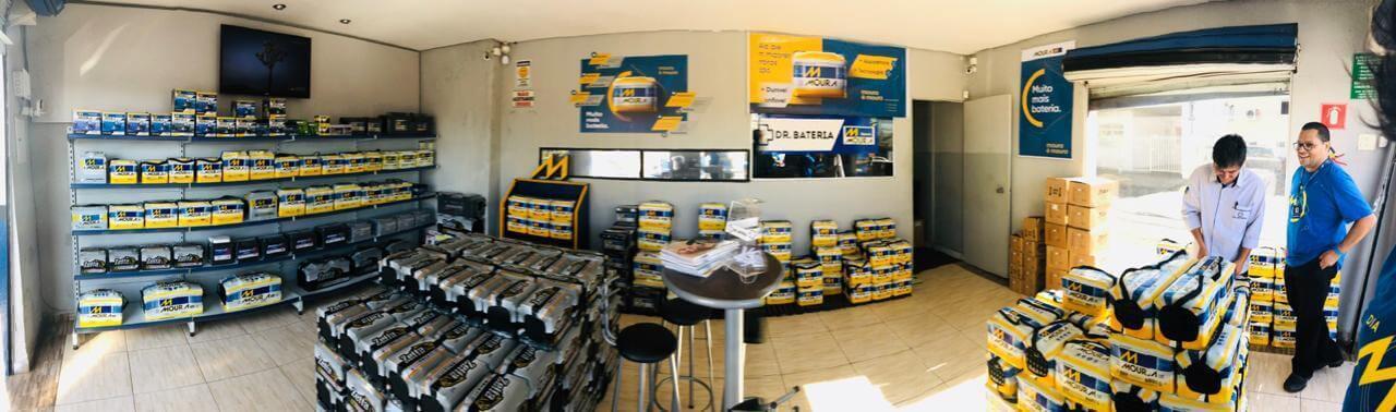 Milhares de pontos de venda Moura juntos e com a mesma energia para encantar os clientes