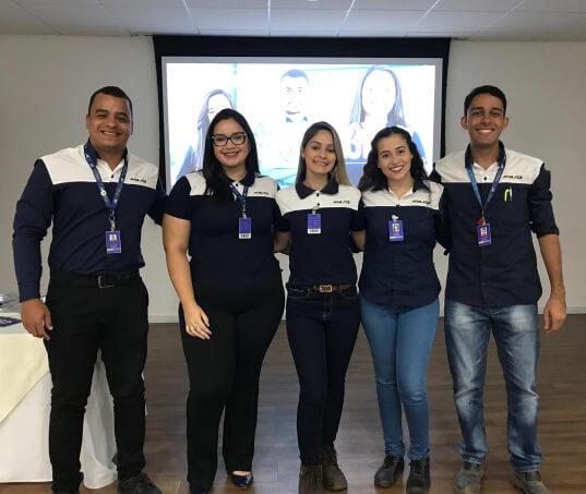 Jovens profissionais Moura desenvolvem soluções para o futuro da indústria