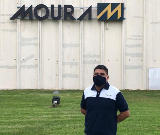 Grupo Moura expande produção e doação de máscaras de pano para Argentina e Uruguai