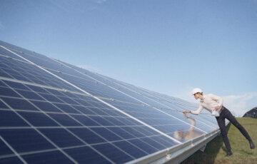 Imagem de placas para baterias solares