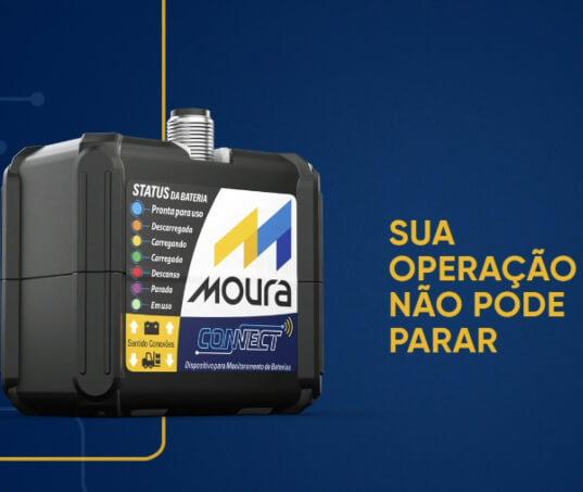 Moura Connect: inteligência para revolucionar a gestão de baterias tracionárias