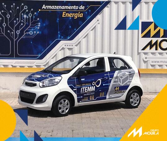 Moura e ITEMM implementam Live Lab para analisar performance de baterias para propulsão de veículos elétricos