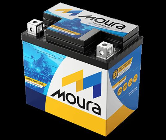 Moura lança nova geração de baterias para motos