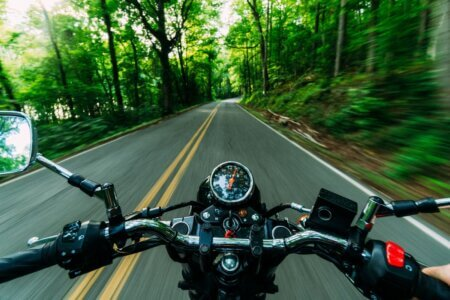 câmera go pro em moto